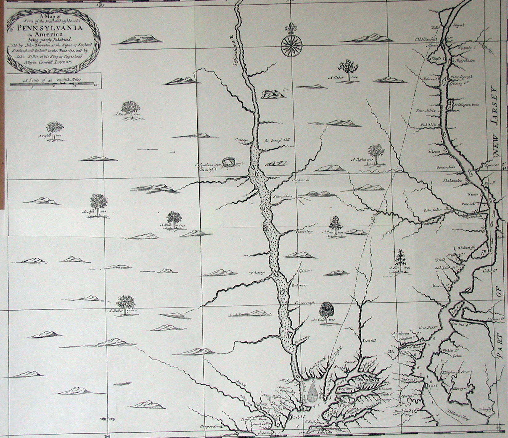 168039s Pennsylvania Maps