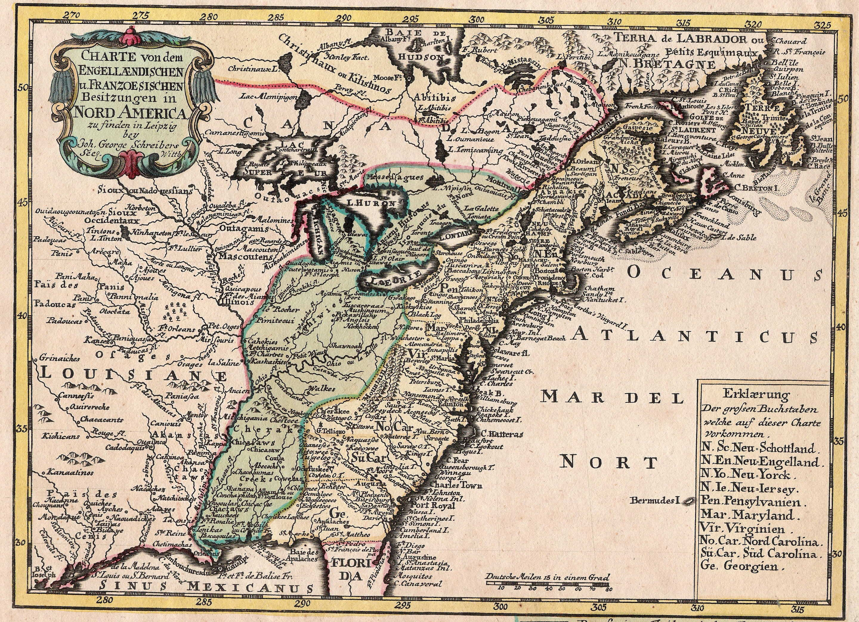 1740s Pennsylvania Maps
