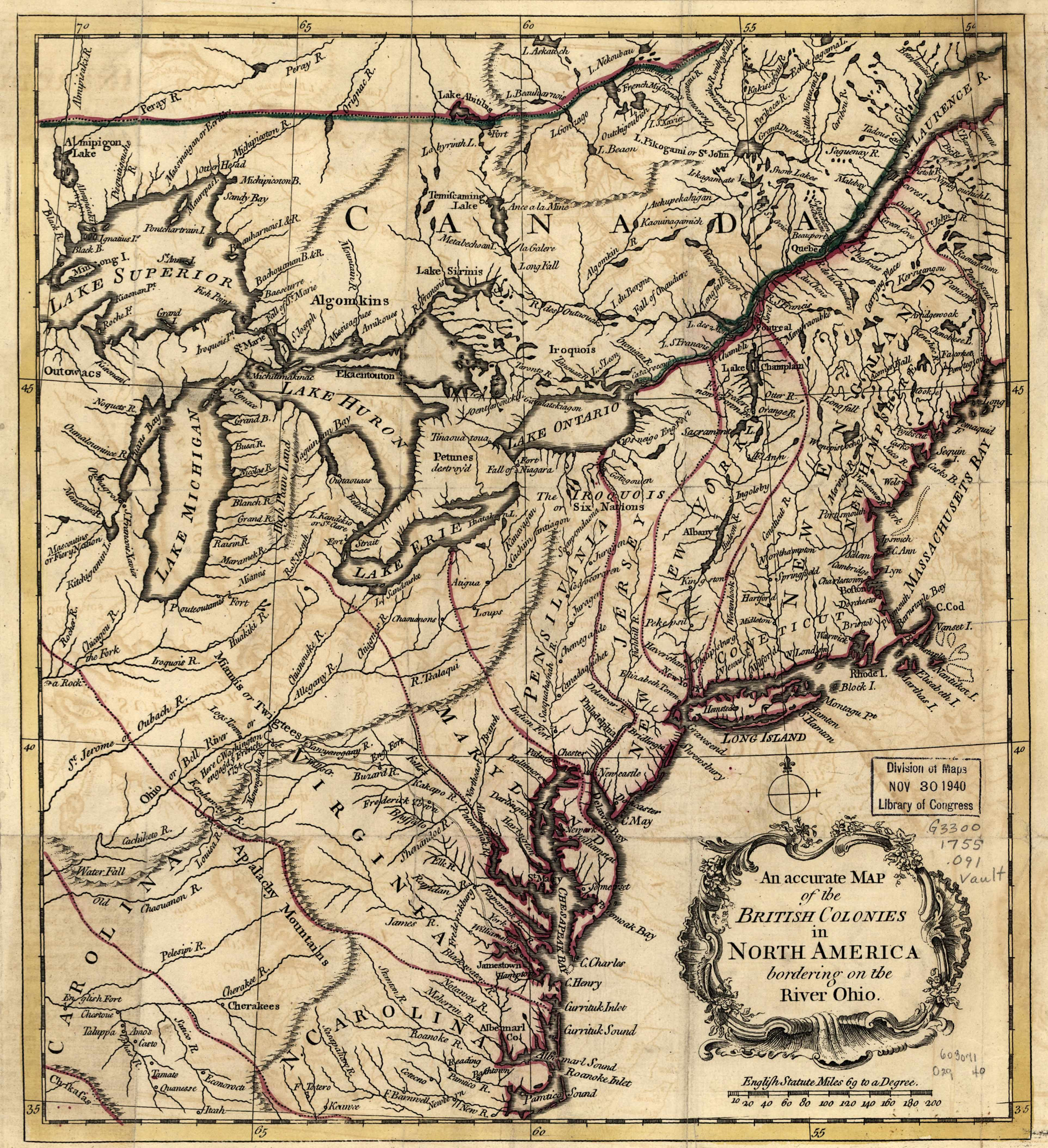 1750 to 1754 Pennsylvania Maps