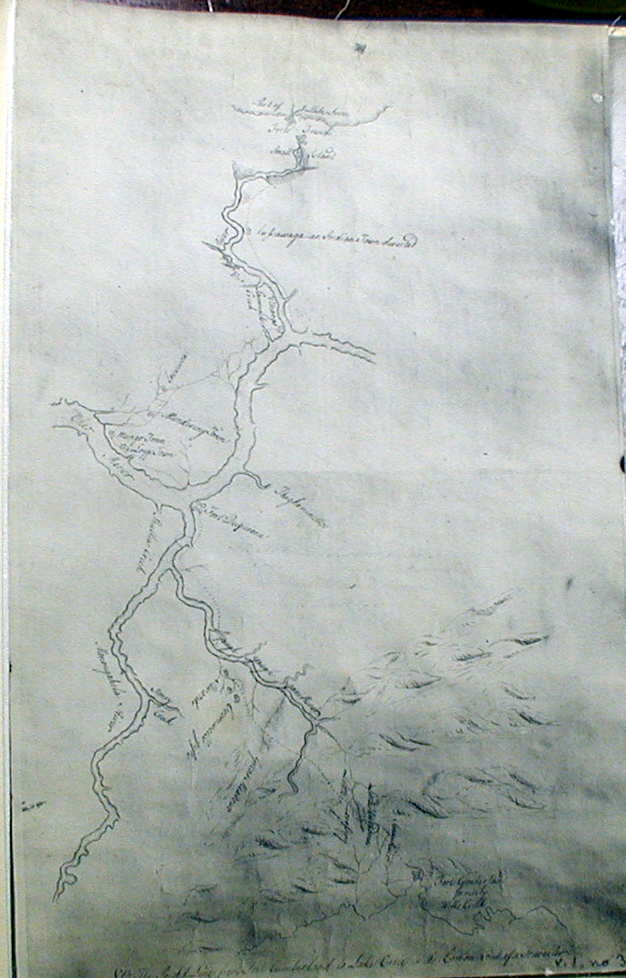 TO FORT ERIE an anonymous manuscript map