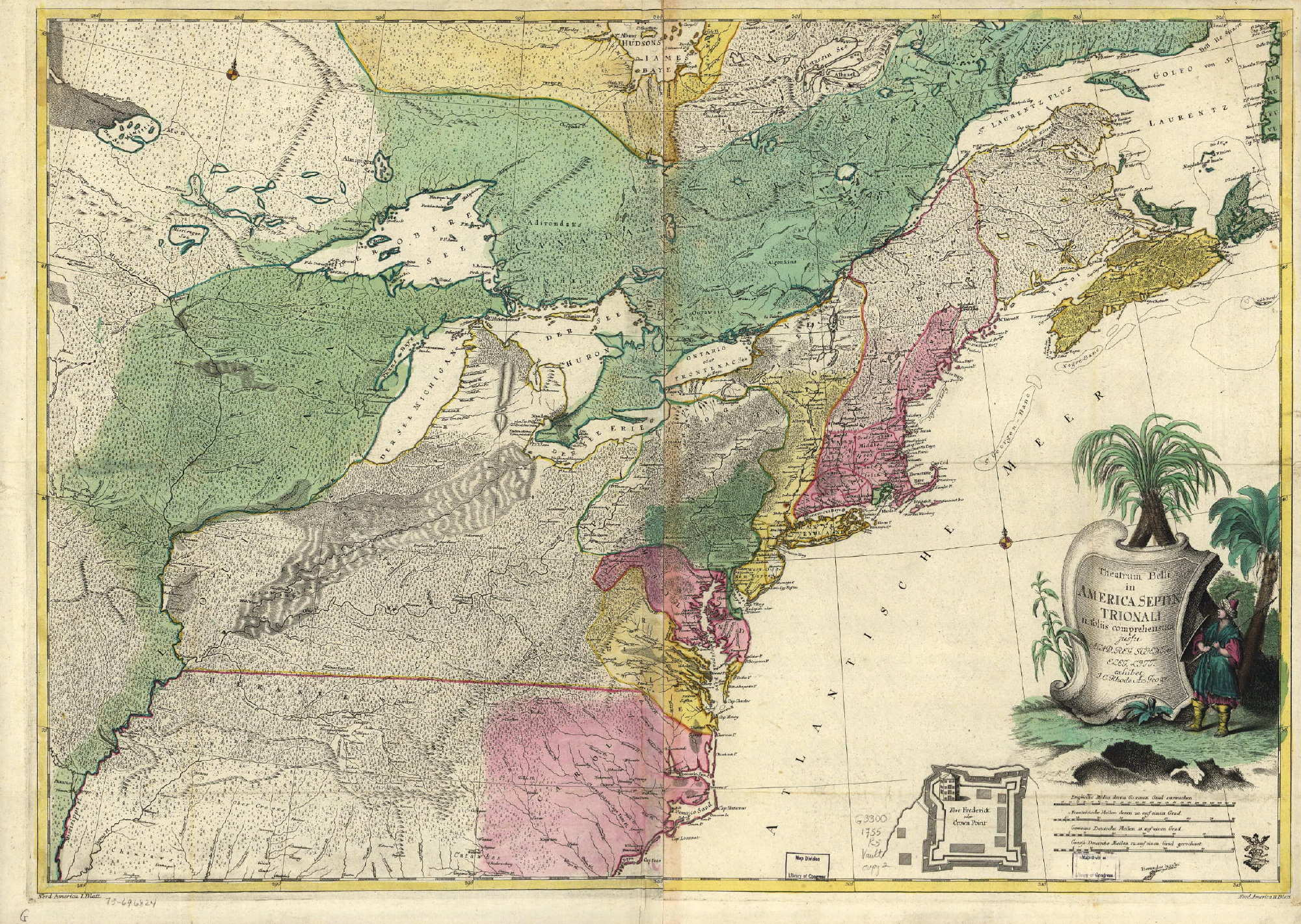 1755 to 1759 Pennsylvania Maps