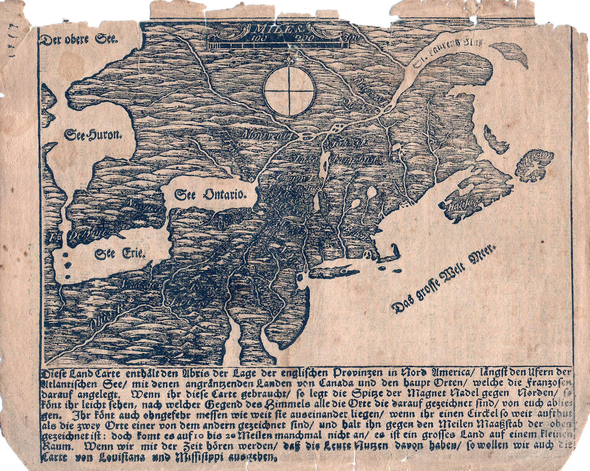 This anonymous and undated map is believed