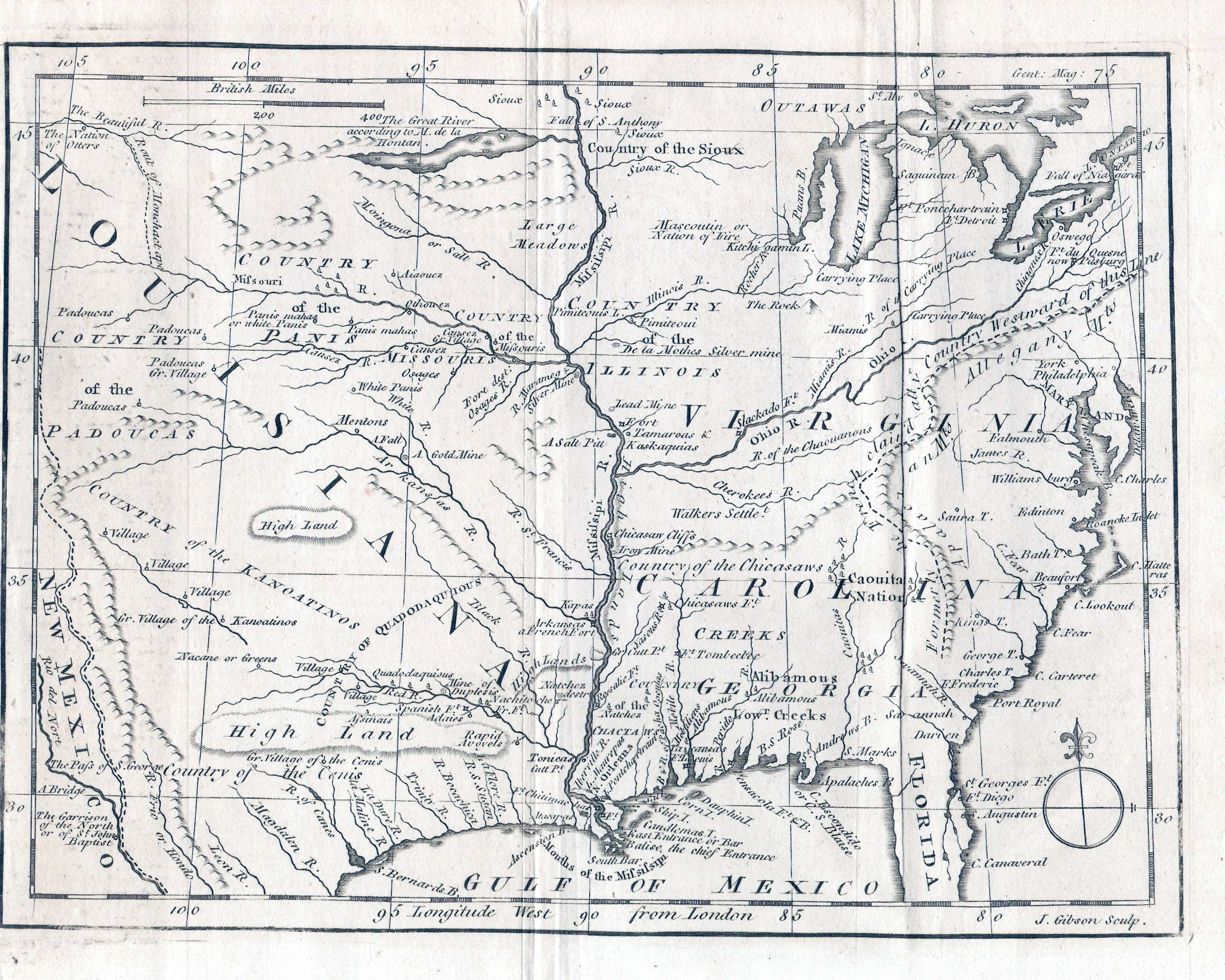 To  Pennsylvania Maps - Map of us including rivers and mountains