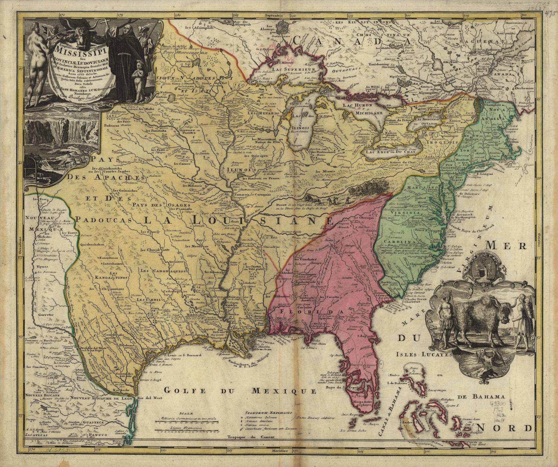 Maps United States Map - Map of us during 1763