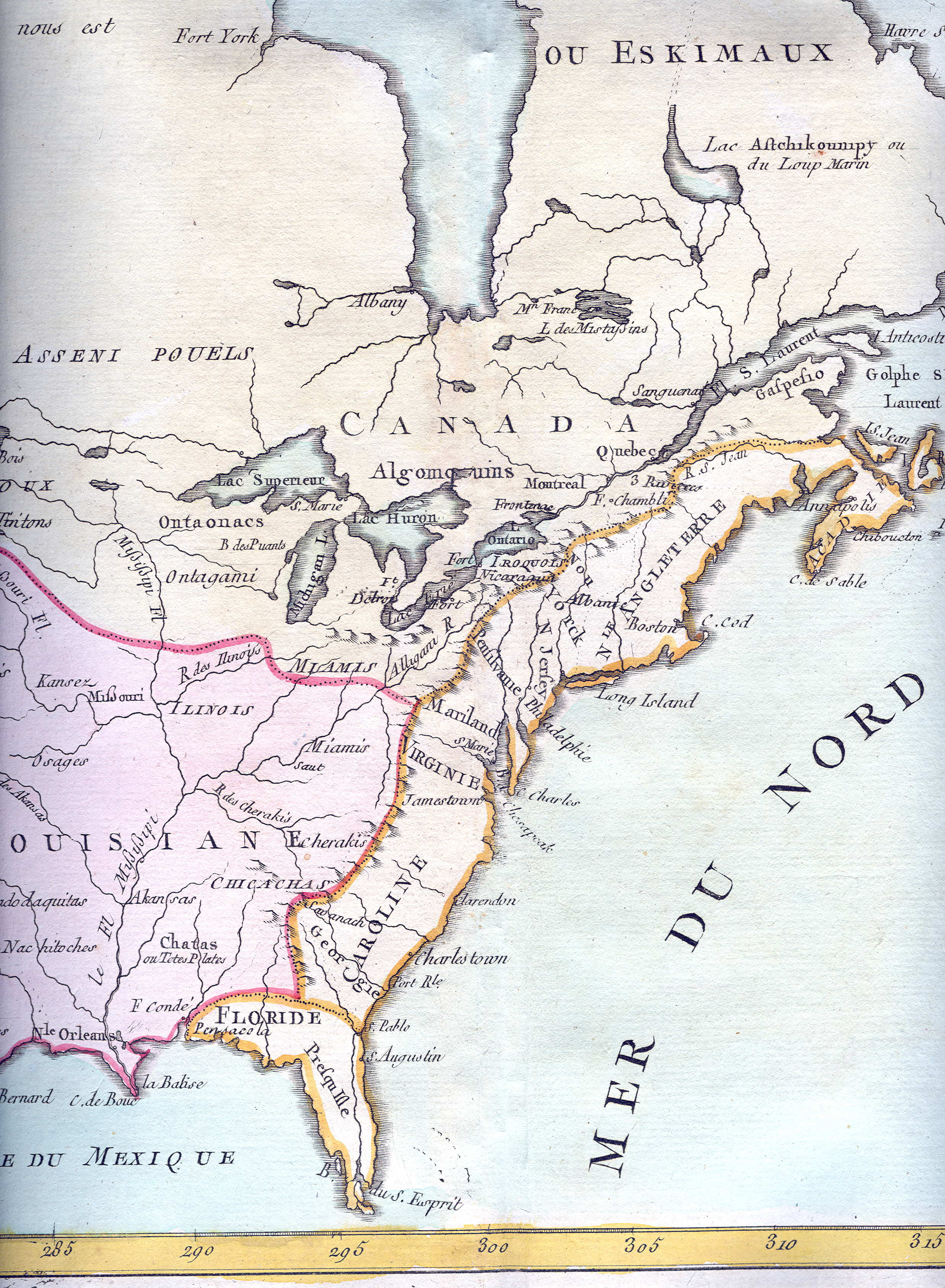 1765 to 1769 Pennsylvania Maps