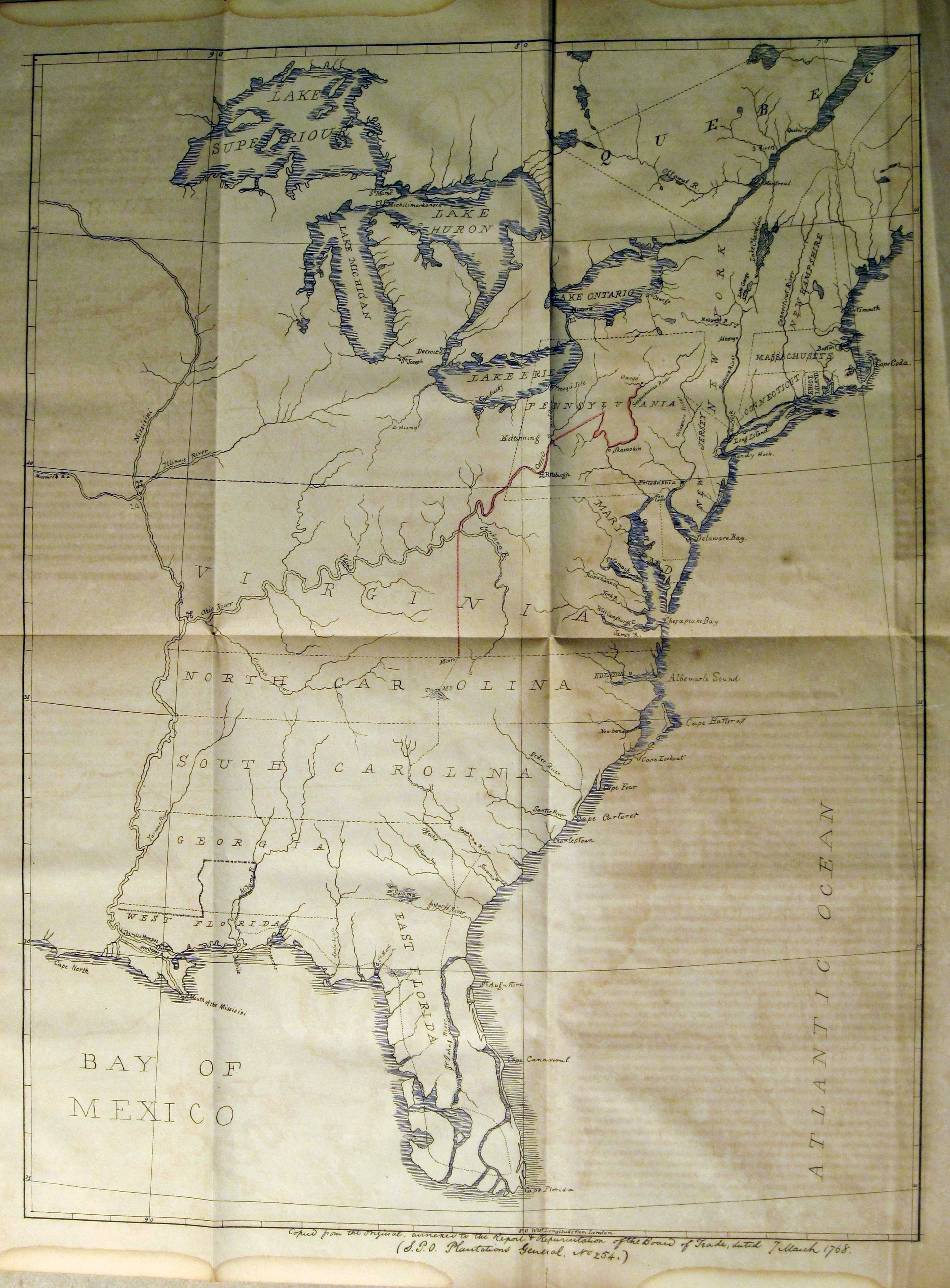 To  Pennsylvania Maps - Us map west of the mississippi