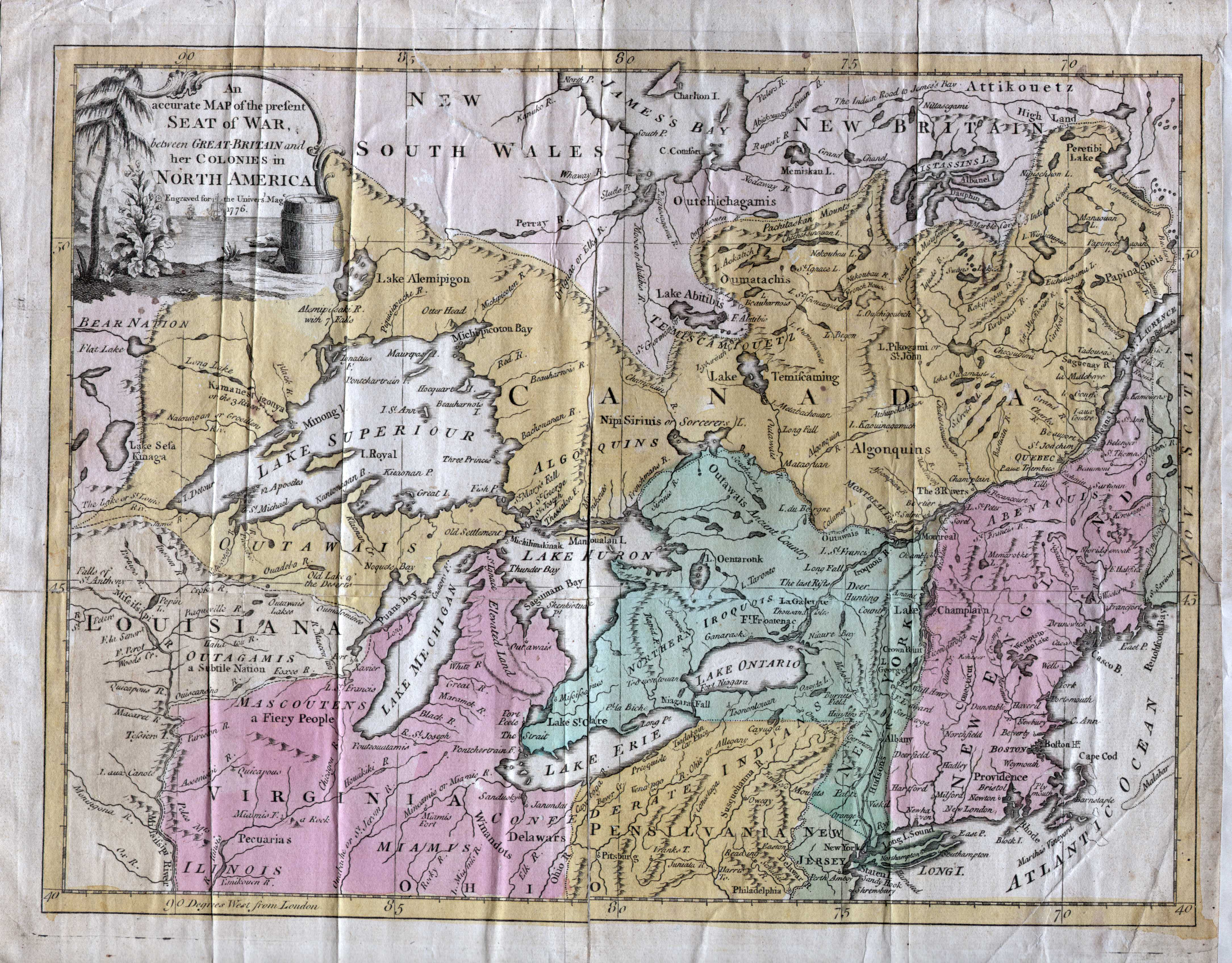 17762 AN ACCURATE MAP OF THE PRESENT