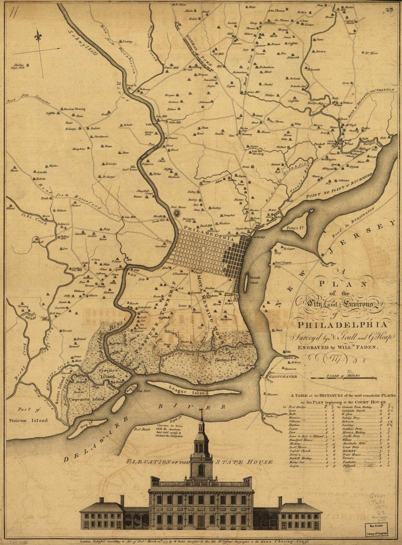To  Pennsylvania Maps - Map of new york city during the american revolution