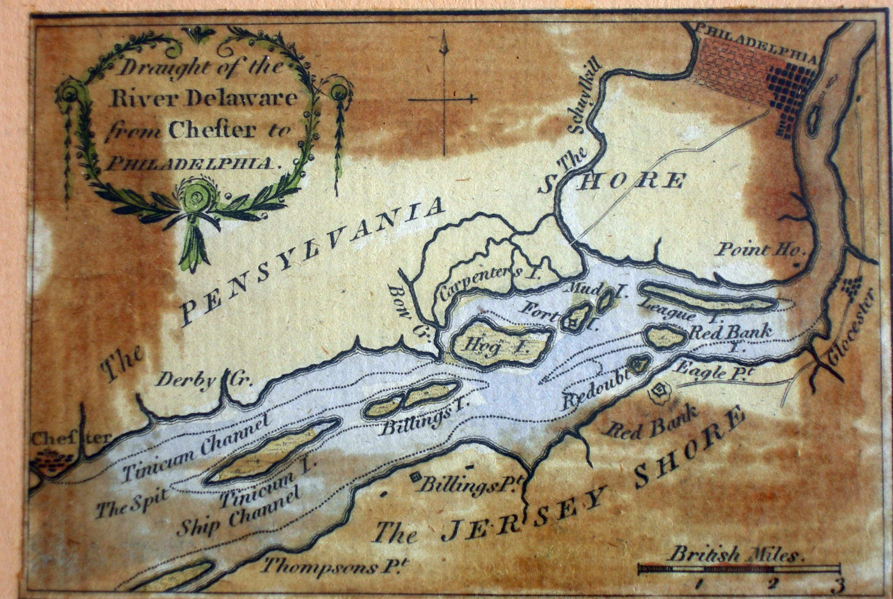 1775 to 1779 Pennsylvania Maps