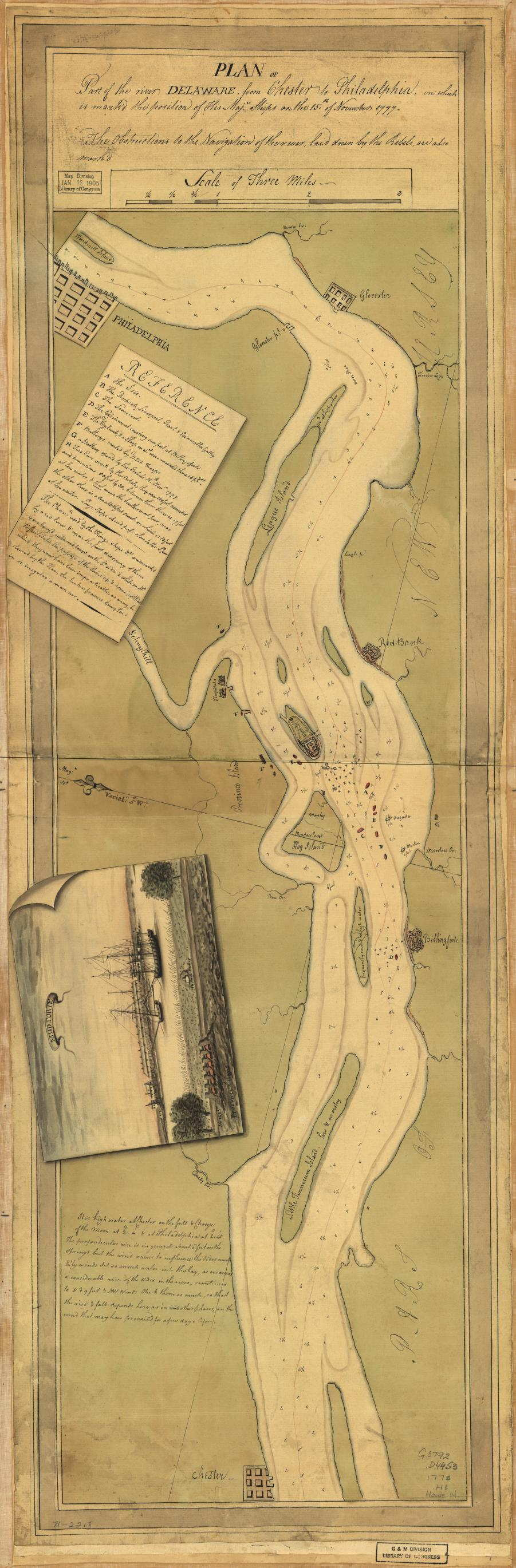 177826 PLAN OF PART OF THE RIVER