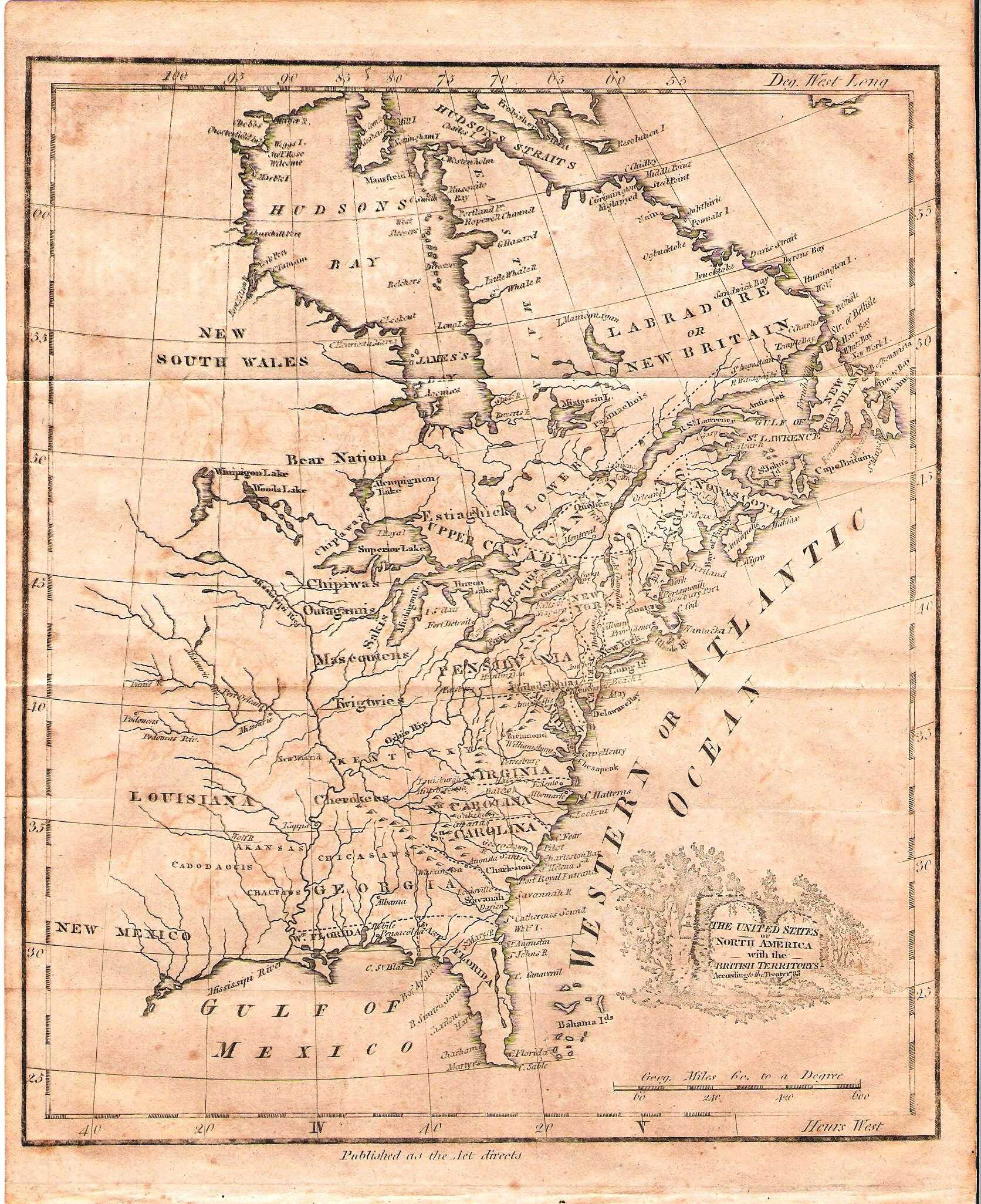 1780 to 1784 Pennsylvania Maps