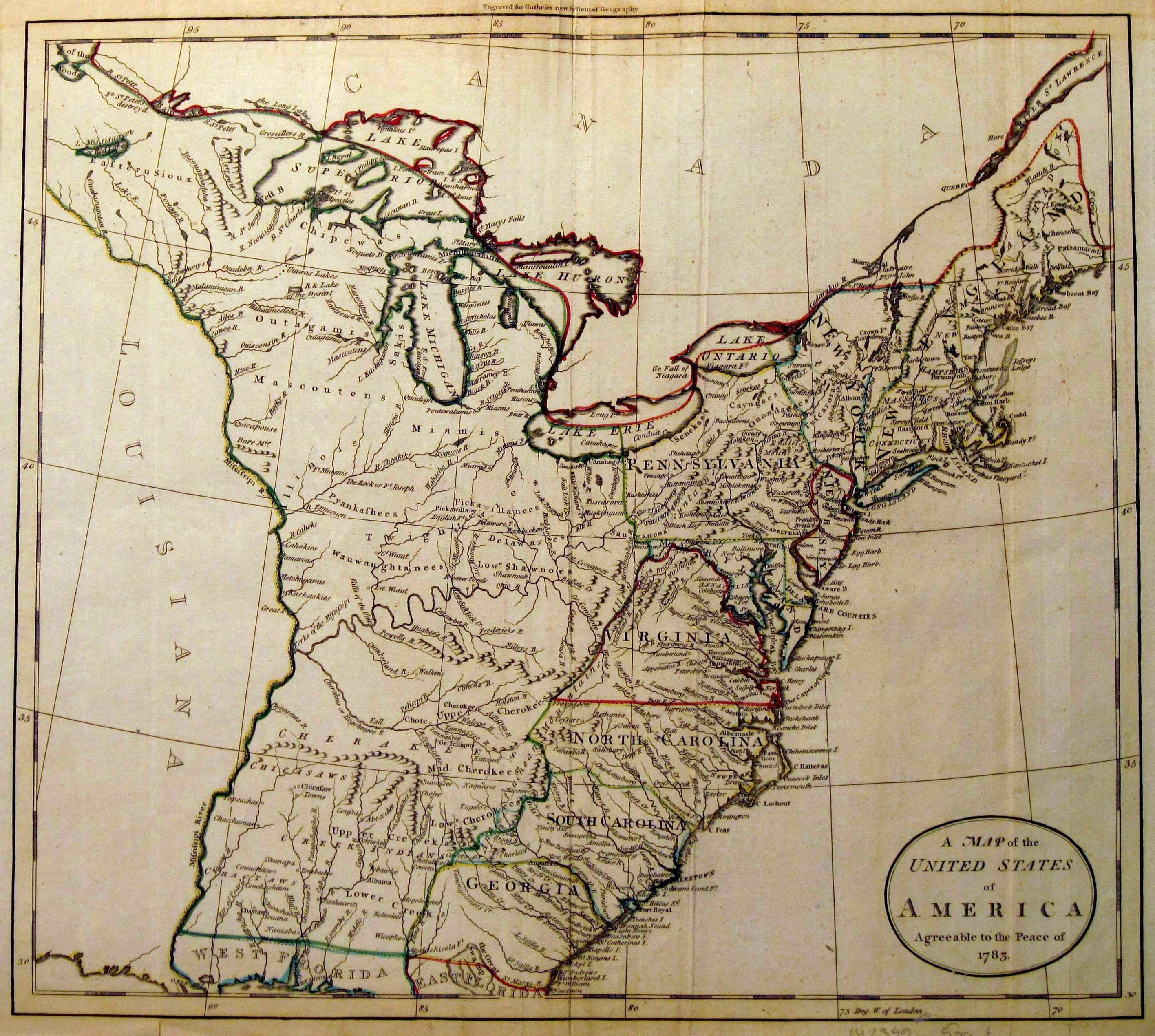 1785 to 1789 pennsylvania maps sciox Choice Image
