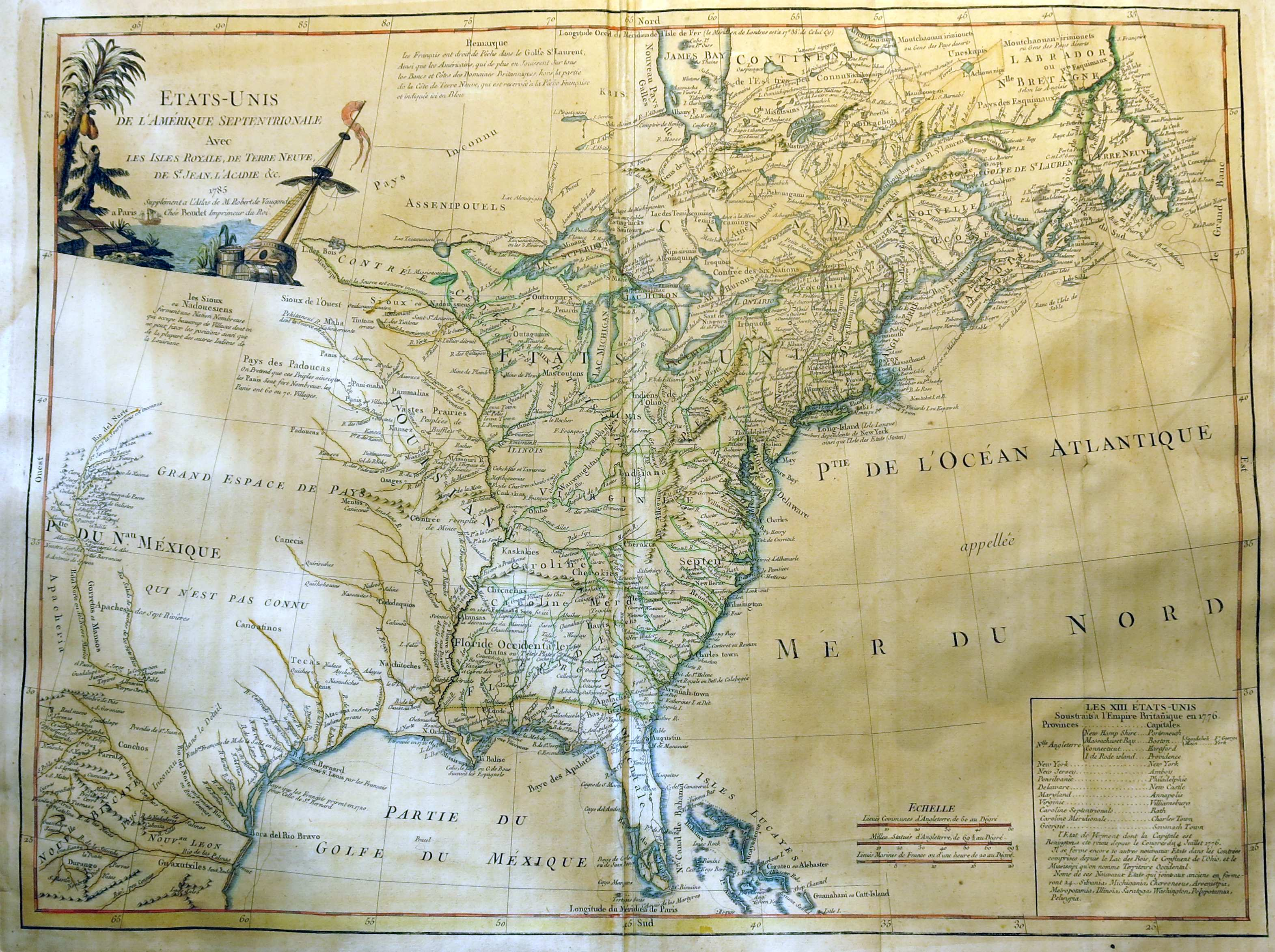 1785 To 1789 Pennsylvania Maps
