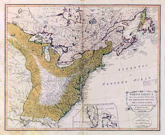 To Pennsylvania Maps - 1789 map of us