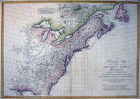1790 to 94 Pennsylvania Maps