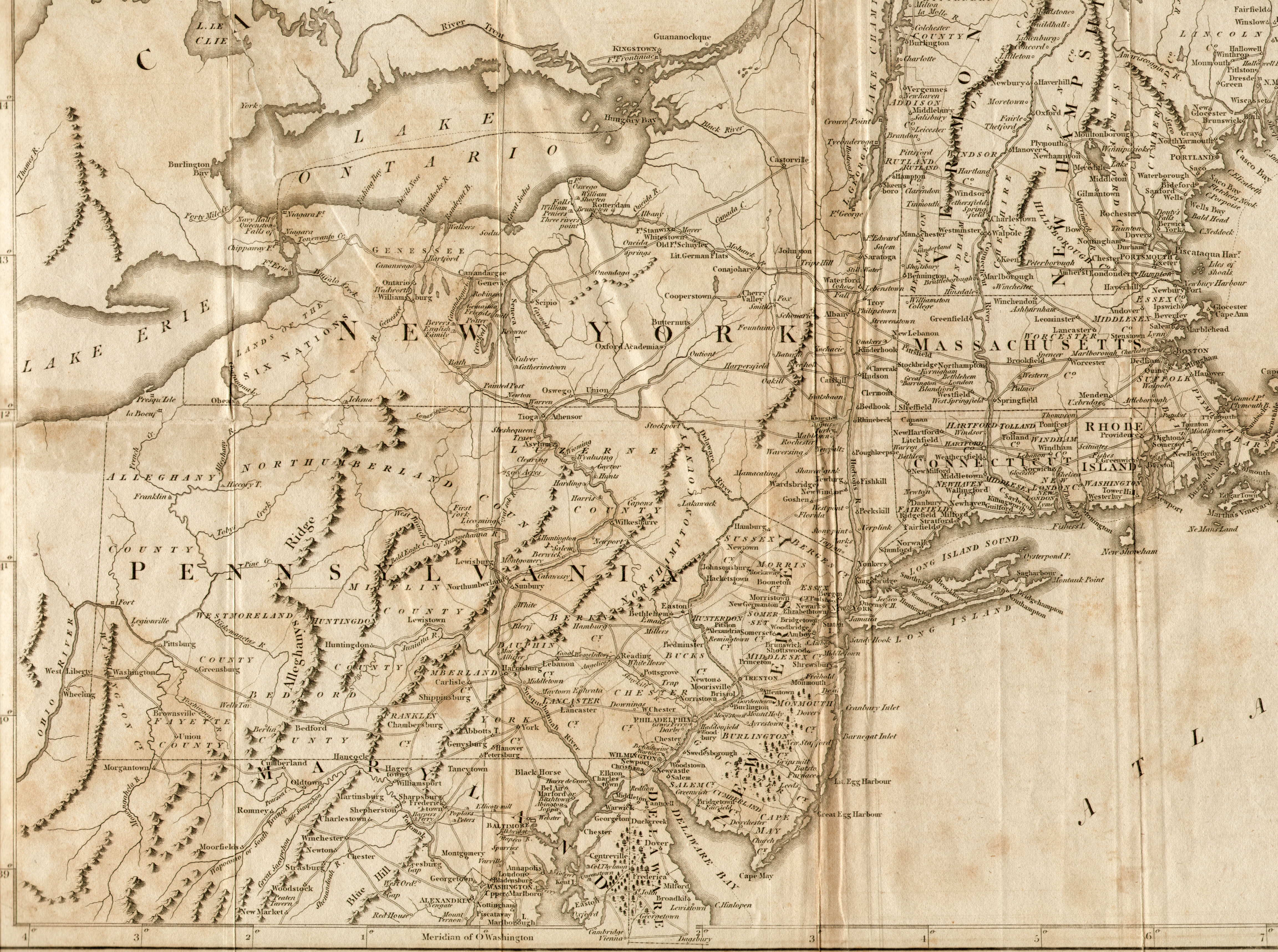 To Pennsylvania Maps - Bet networks llc us map coverage