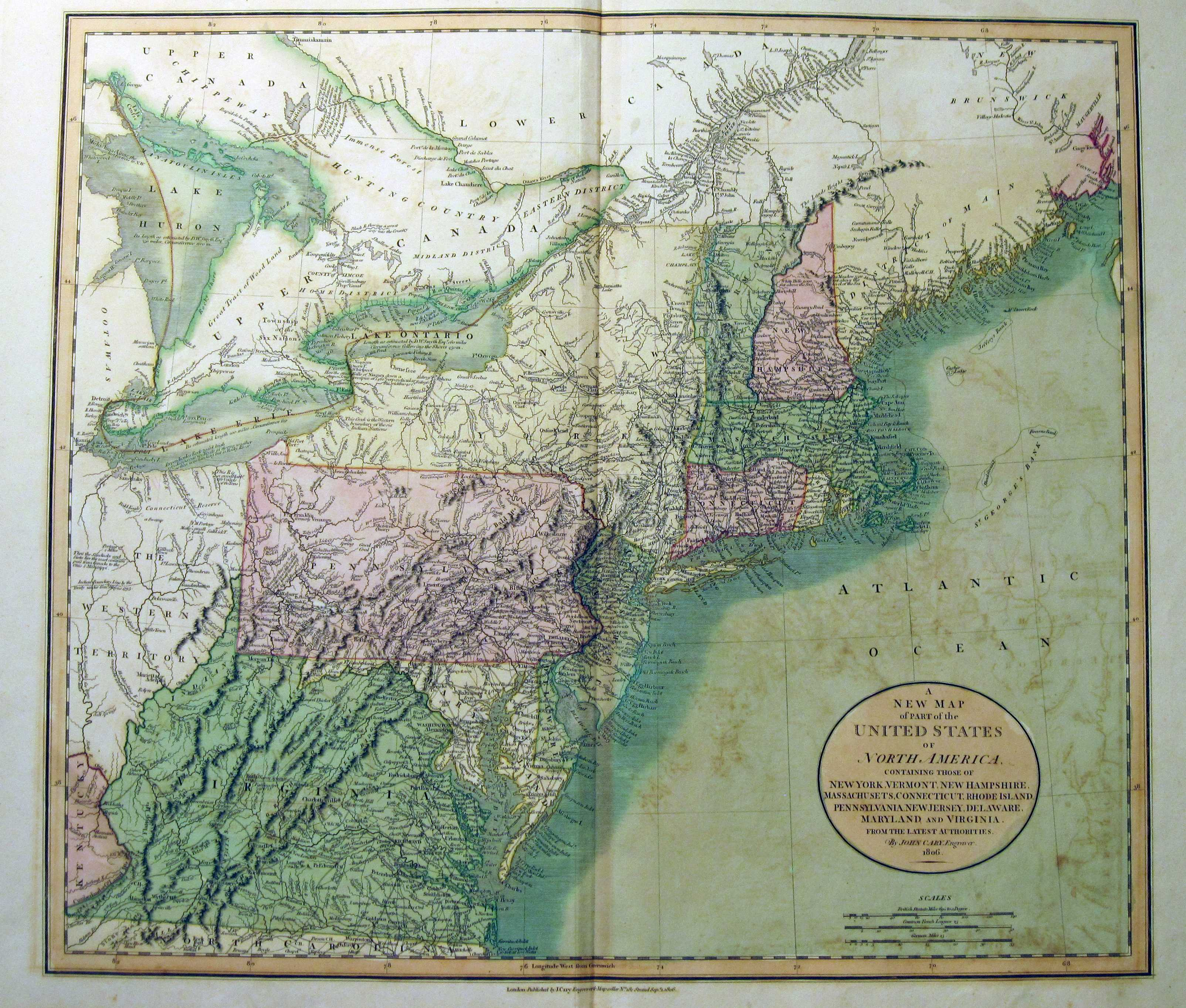 1800\'s Pennsylvania Maps