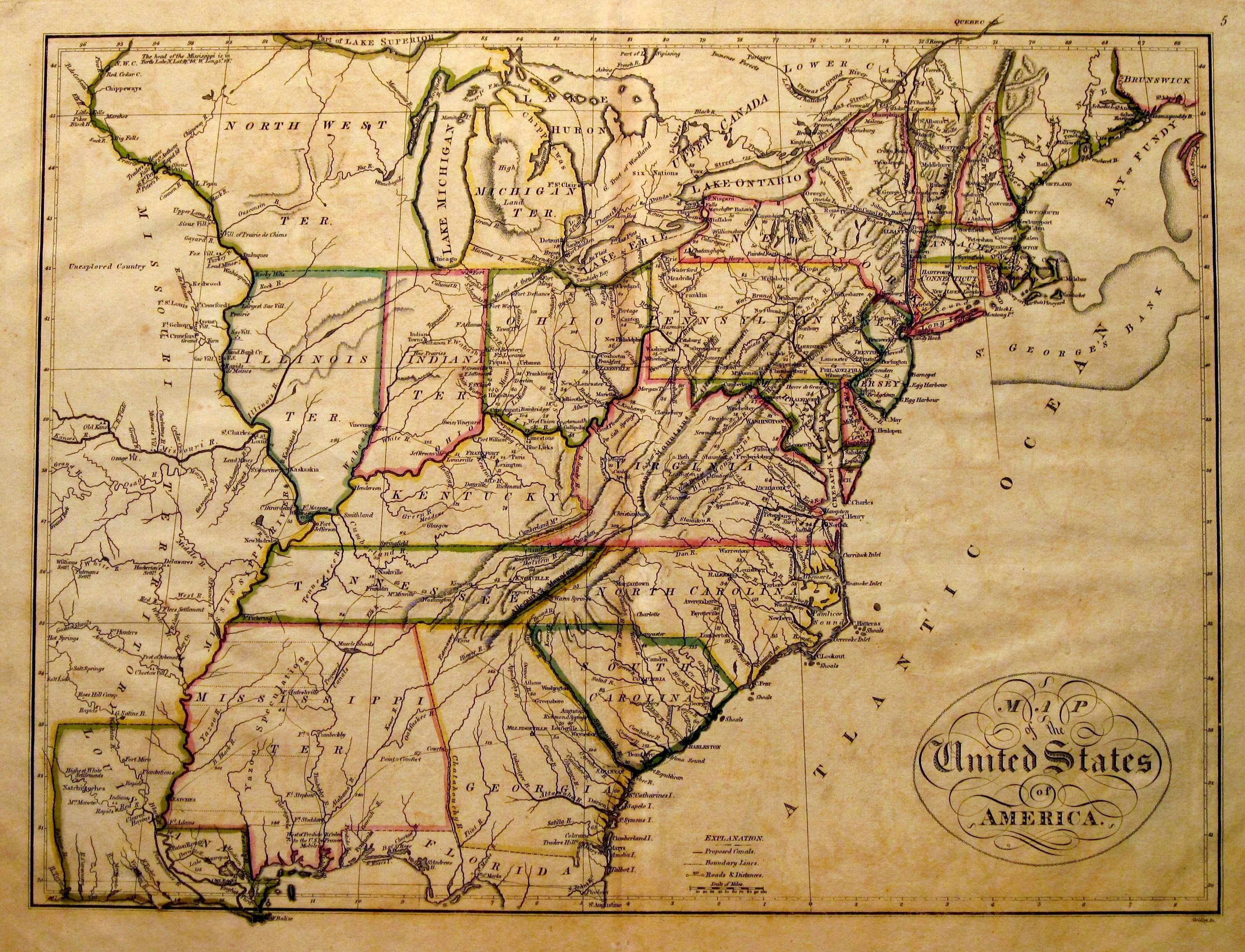 S Pennsylvania Maps - Map of western us 1770