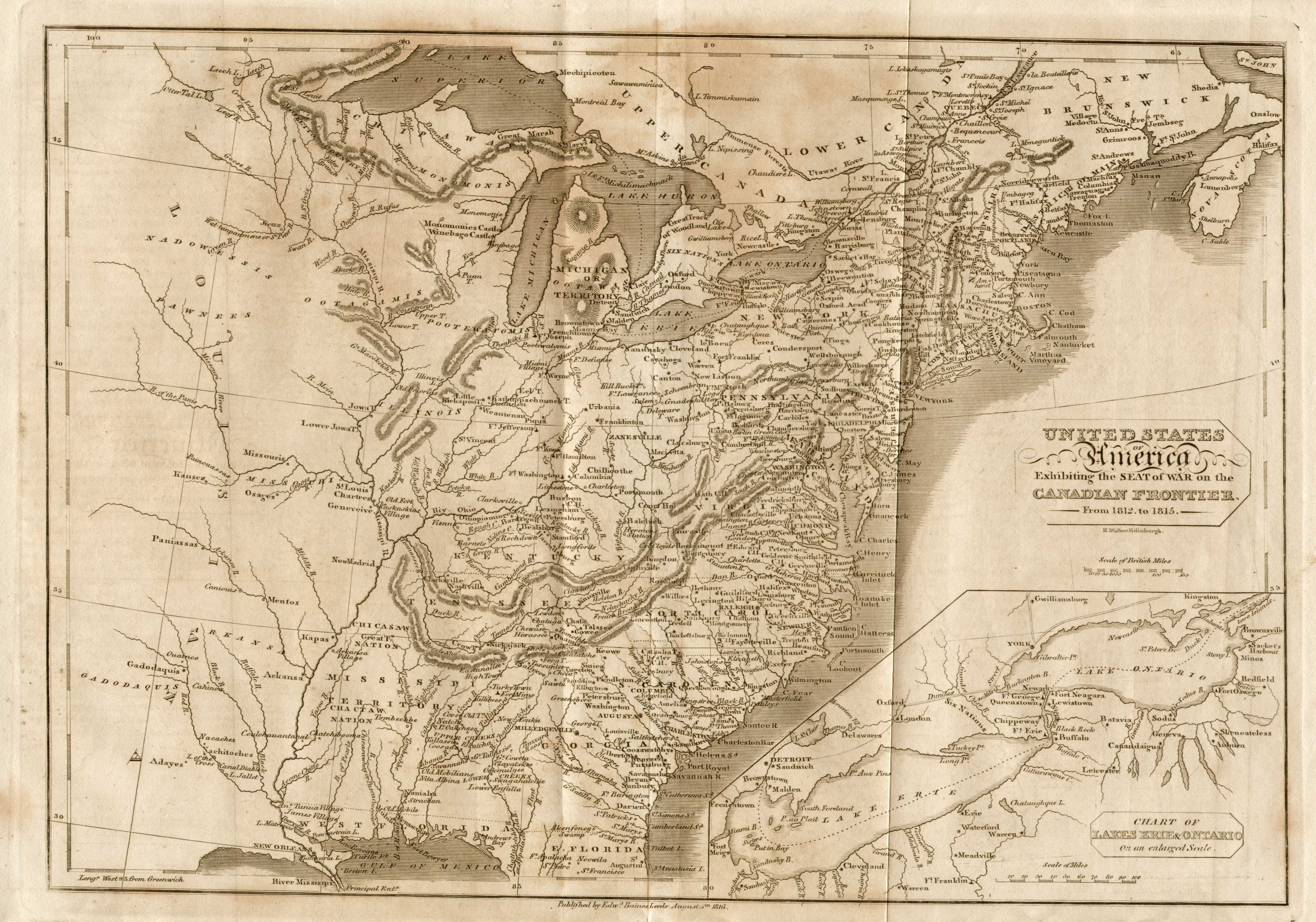 S Pennsylvania Maps - Map of usa and canada east coast