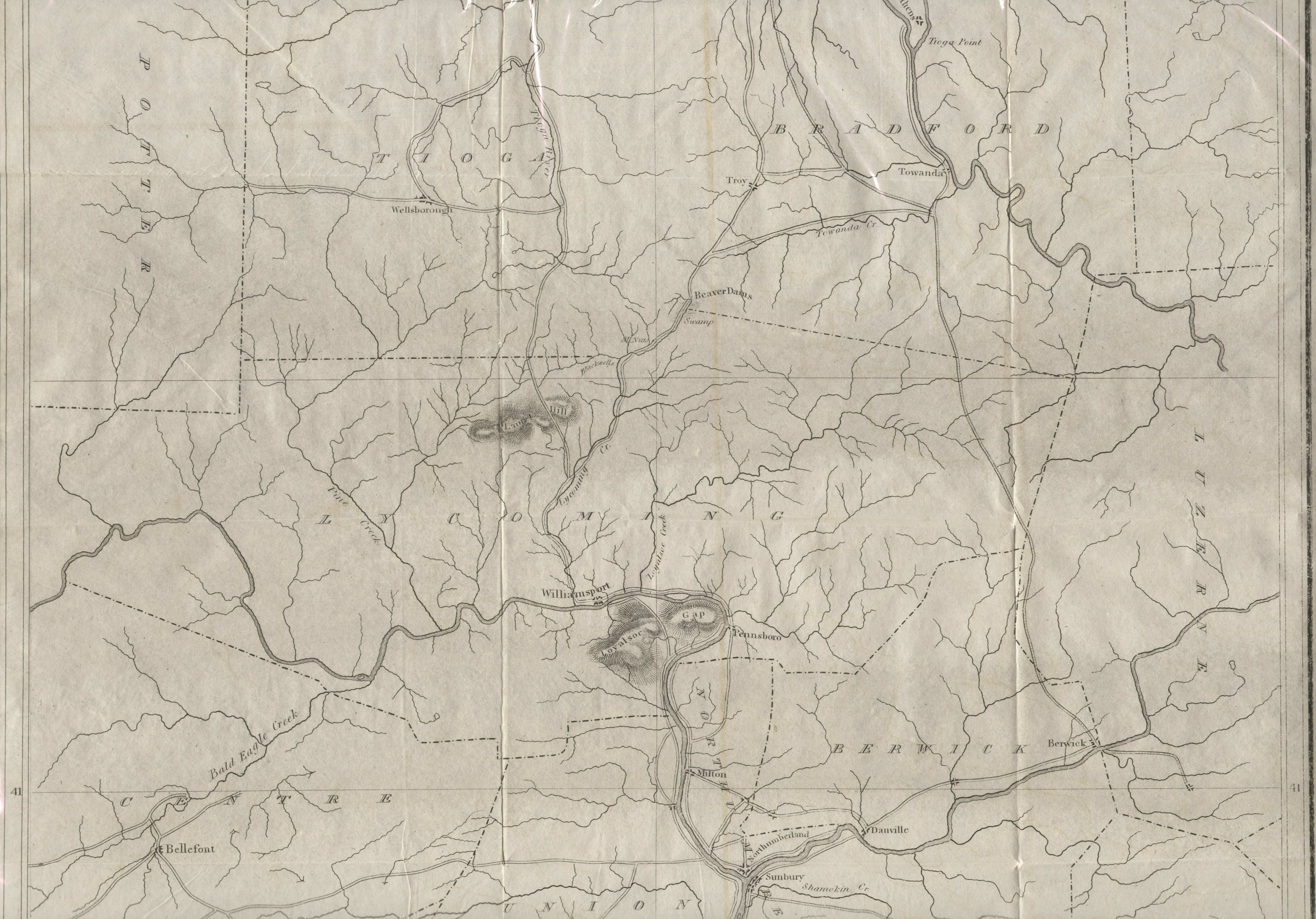 1820s Pennsylvania Maps