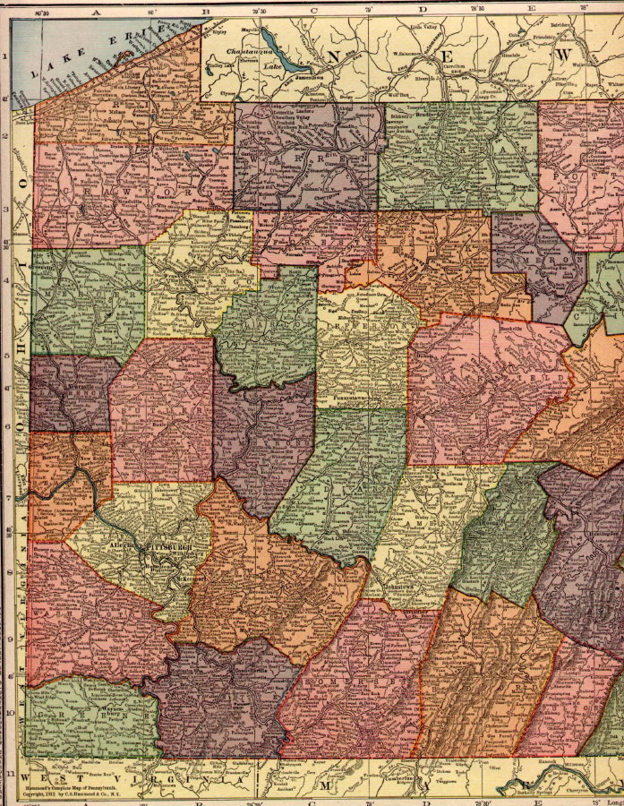 New York Maps Perry Castaeda Map Collection