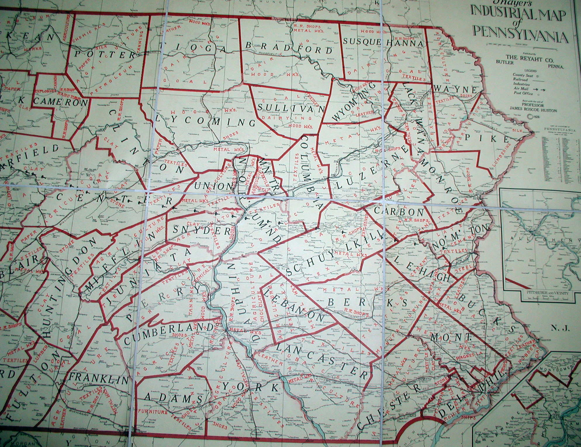 S Pennsylvania Maps - Map of penna