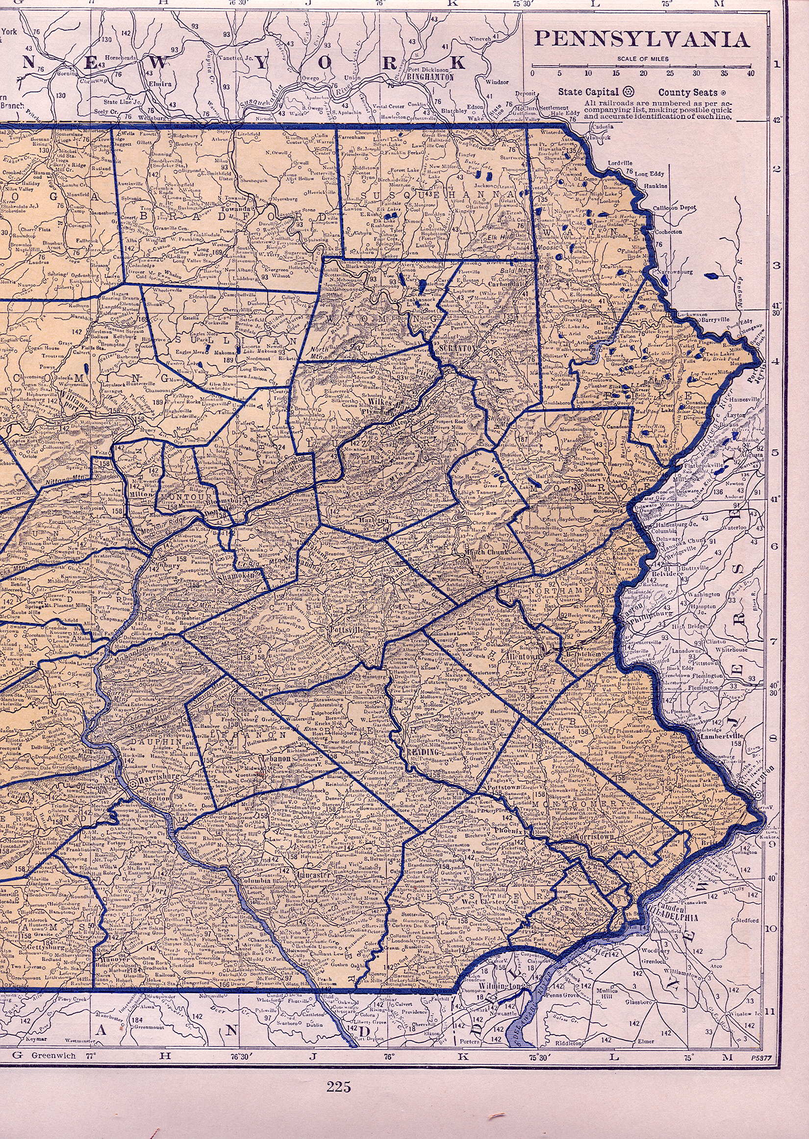 Picture of: 1930 S Pennsylvania Maps