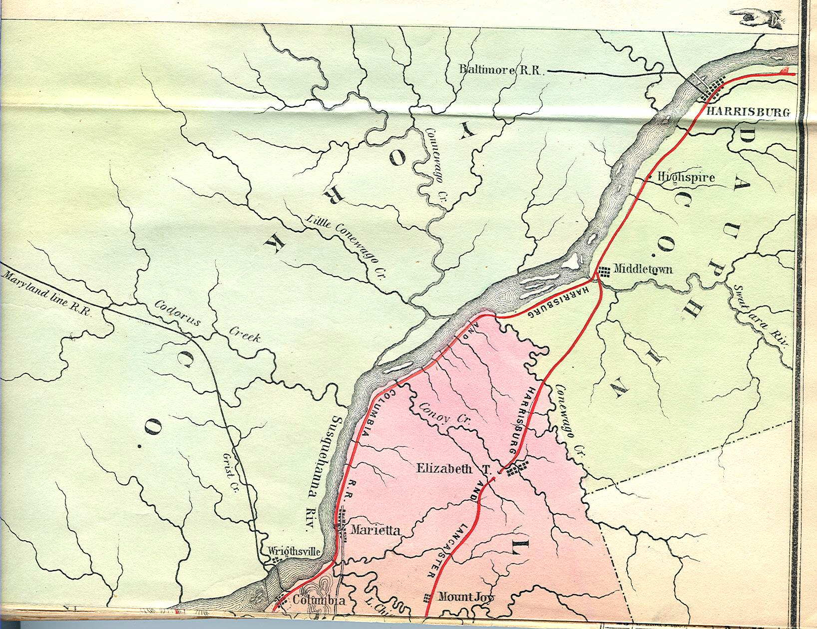 An Overview Of Pennsylvania Mapping Circa 1850 To 1900