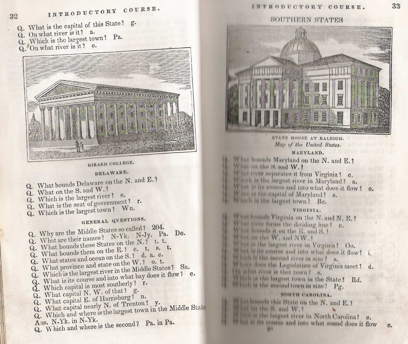 a fuller description of the state is further back on pages127 128 129 130 an advertisement indicates the first edition appeared in 1835 with a