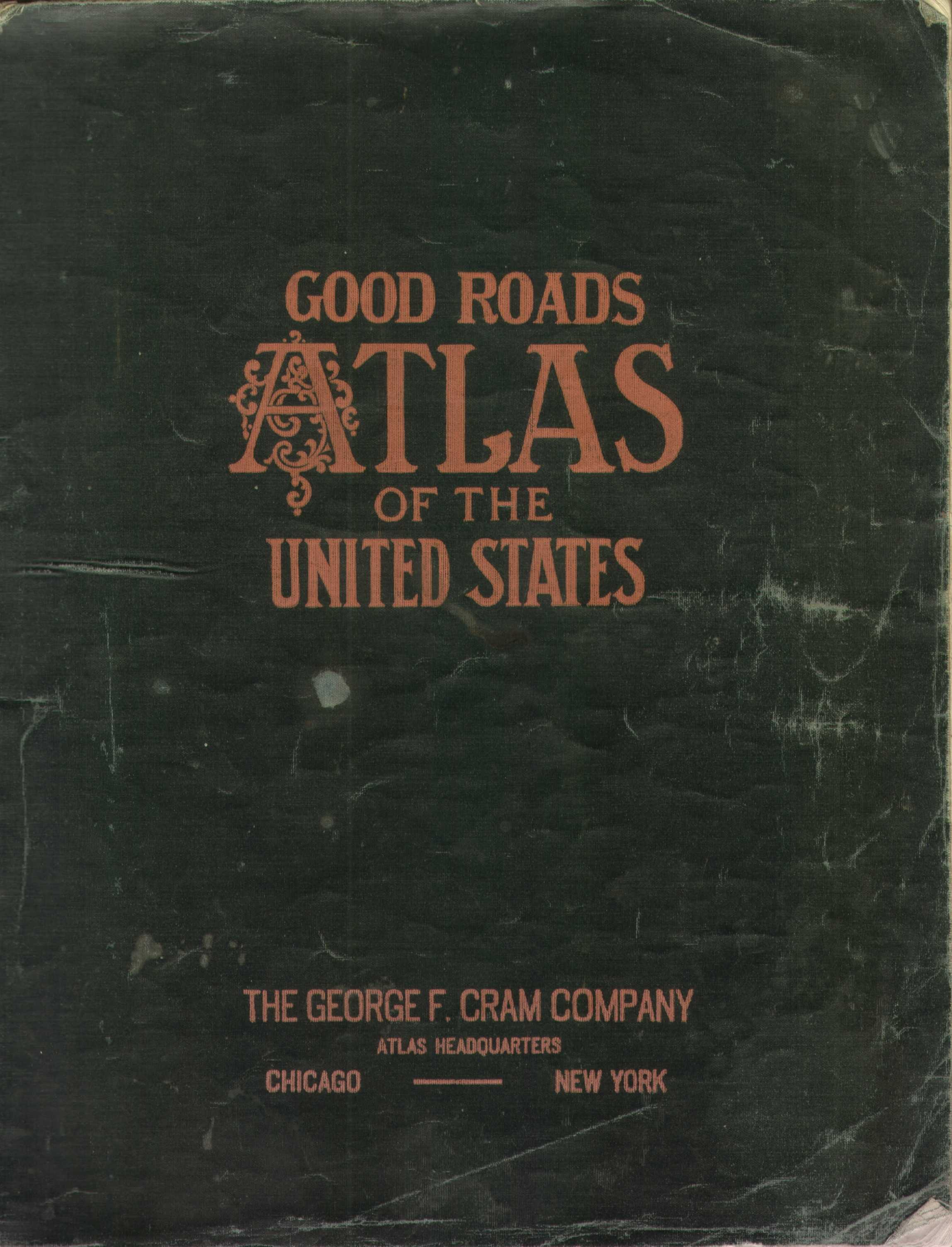 Us Road Map - 1920 us road map