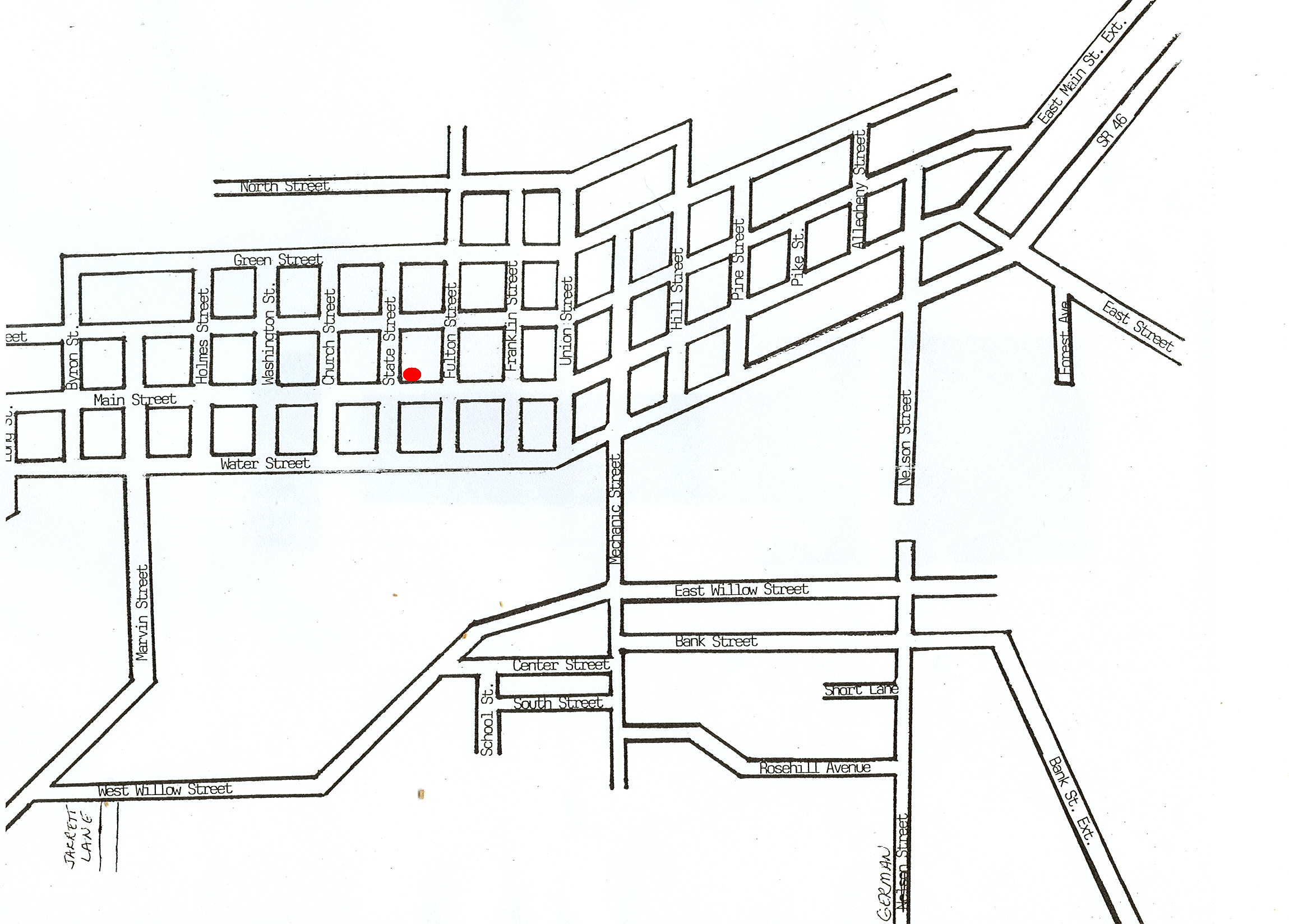 Pictures Of Blank Street Map