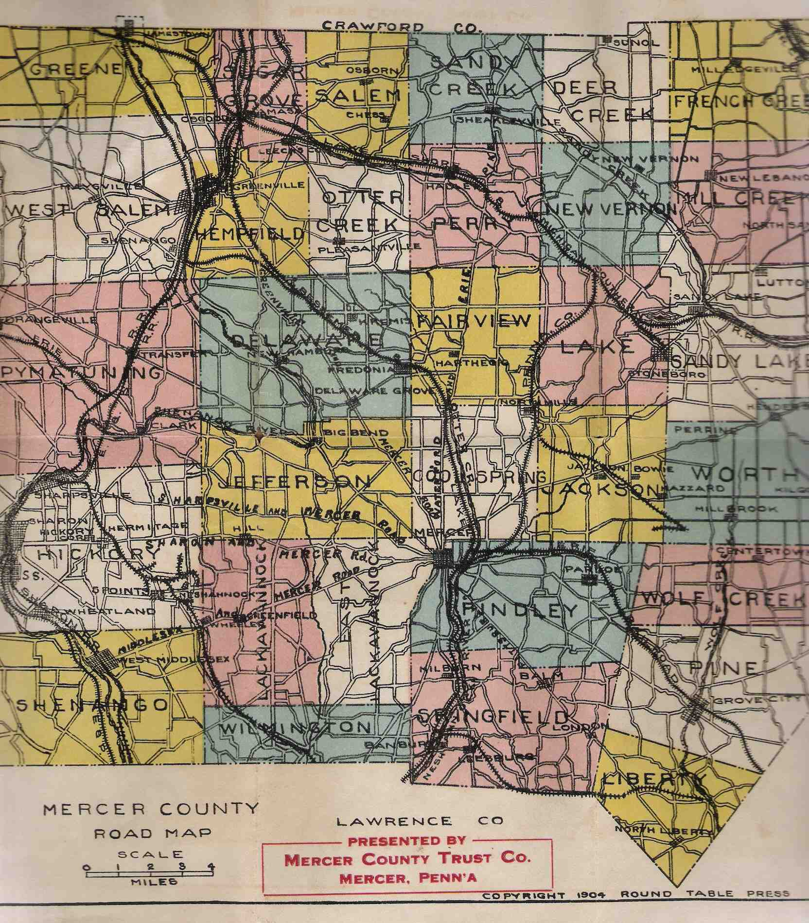 map folds into the 525 x 35 inch brown paper cover shown with the title the townships are color coded and the road network is shown in great detail