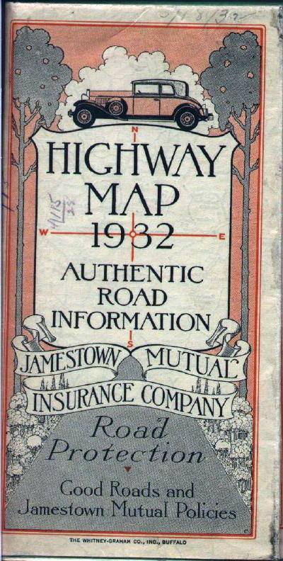 S Road Maps Of Pennsylvania - 1934 us highways map midwest