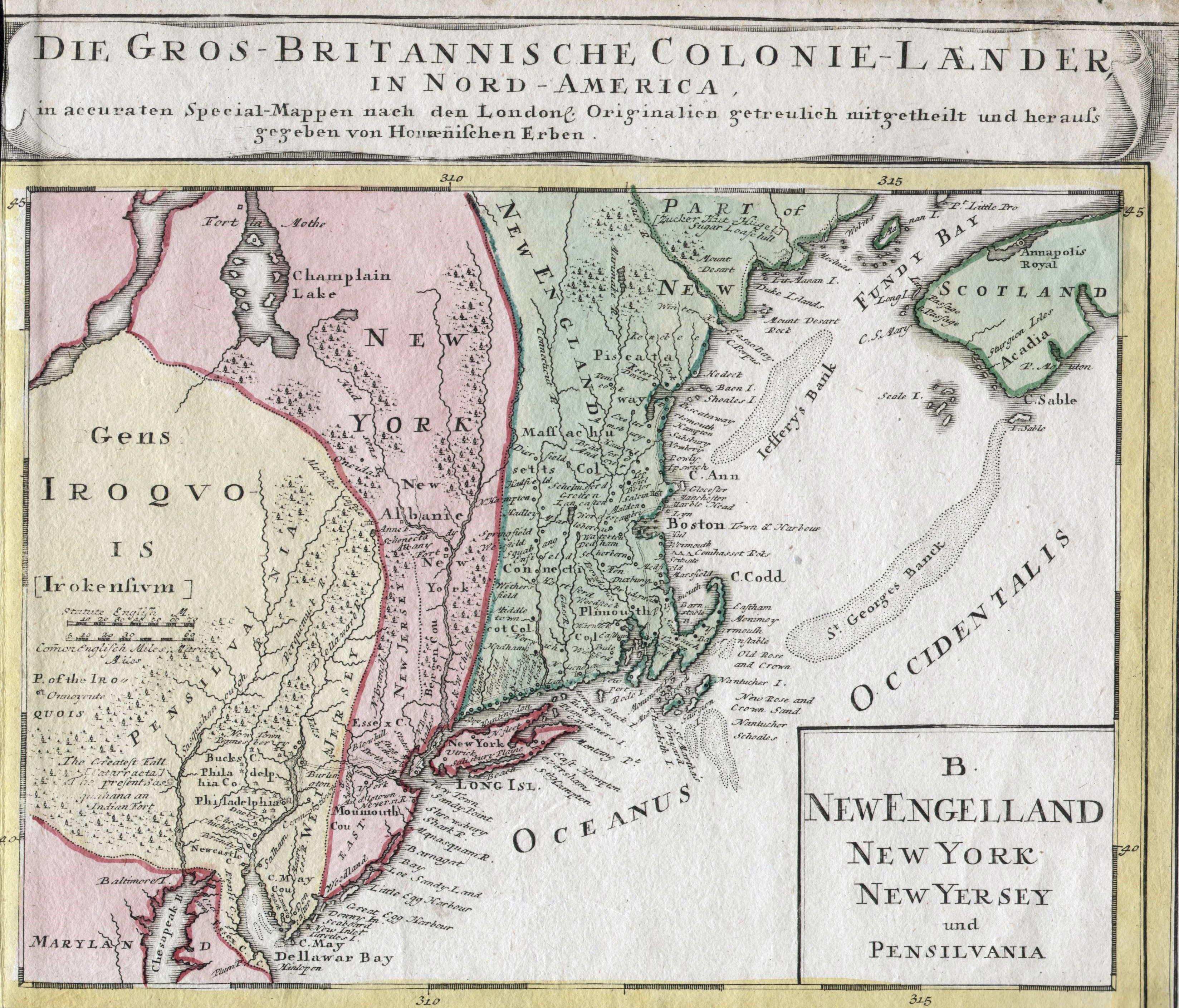 1740 s Pennsylvania Maps