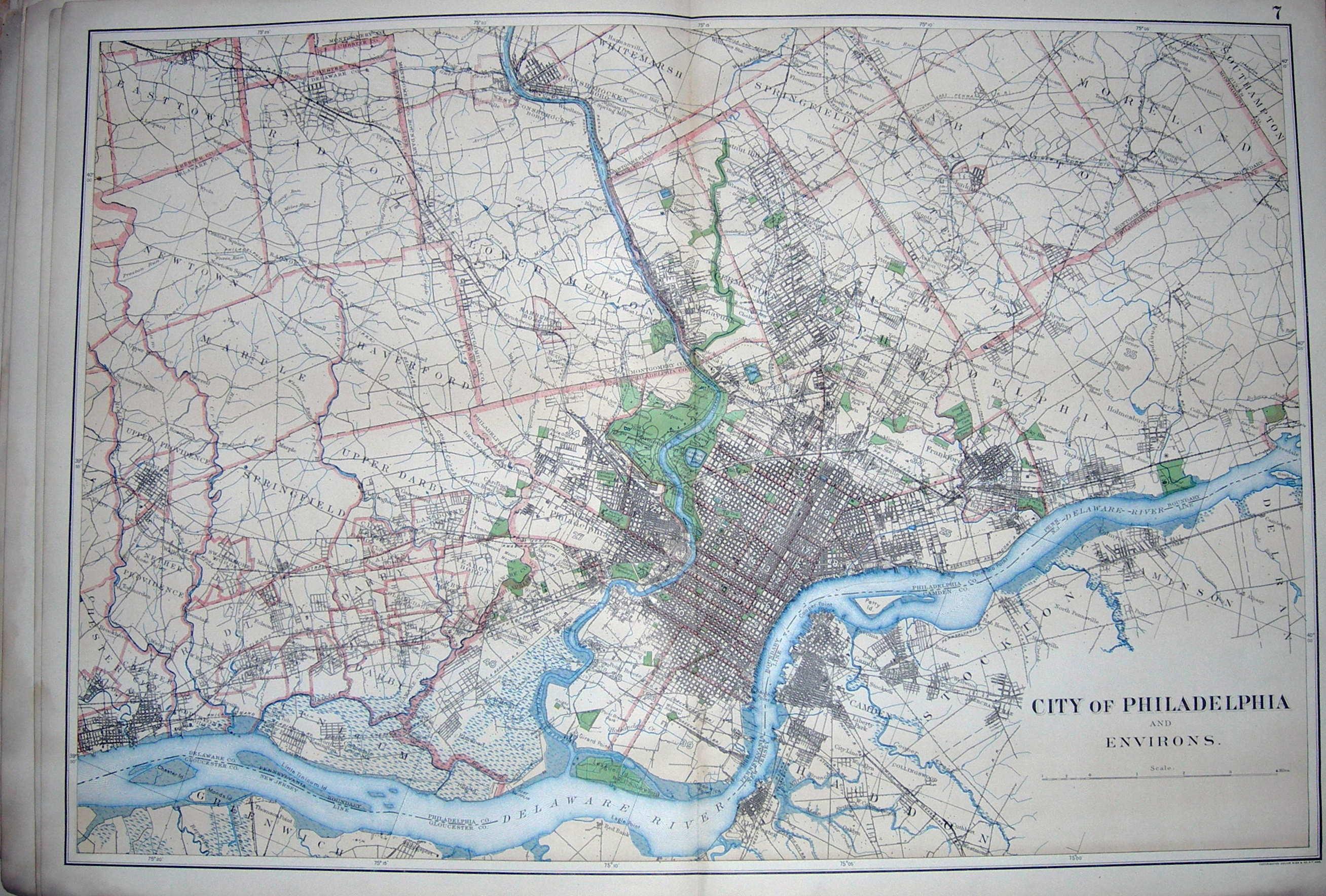 The 1900 Atlas of Pennsylvania